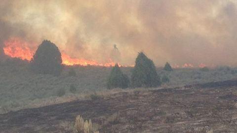 Szellemet fotóztak a hatalmas tűzvészben – fotó