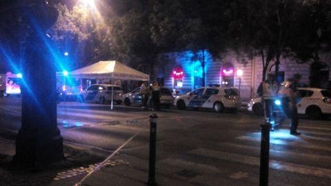 Halálra gázoltak egy embert a budapesti Andrássy úton - fotók