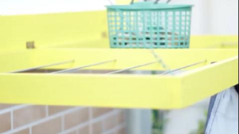 Zseniális DIY ruhaszárító, apró lakásokba – videó
