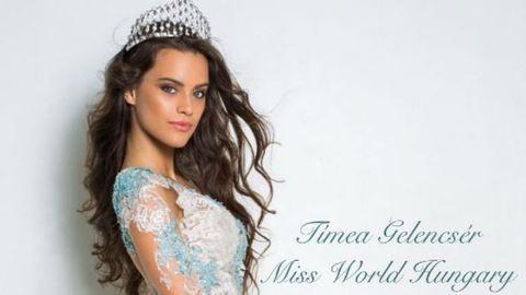 Gelencsér Tímea szépségkirálynő a szerelemről: nem ezen van a fókusz