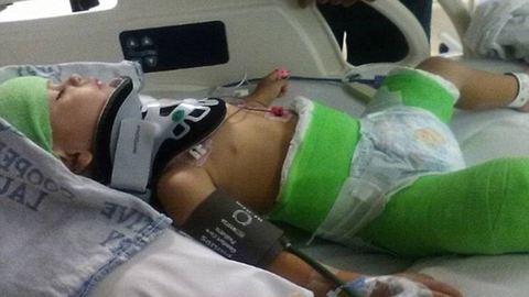 Ripityára törte az autóját, benne kisfiával, mert nem akart apa lenni