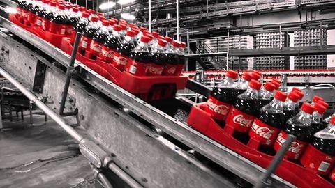 Kokaint találtak a Coca-Cola gyárában
