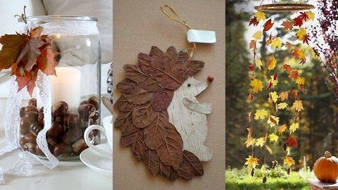 Öltöztessétek őszi dekorba a lakást vagy az osztálytermet!