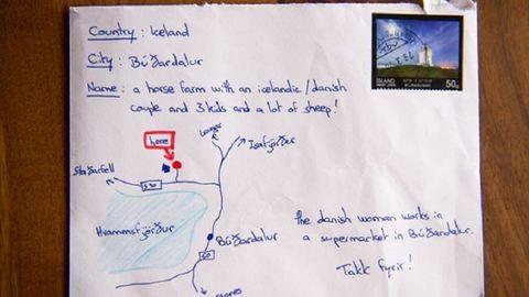 Nem tudta a címet az izlandi turista, mégis célba ért a levele