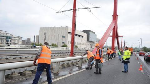 Szombaton mossák a Rákóczi hidat