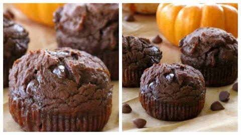 Az ősz kedvenc sütireceptje: csokis sütőtökös muffin