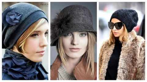 Trendi rövid frizurák télre – így viseld sapkával