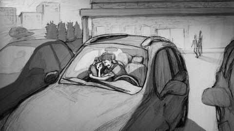 Egy apa szívszorító rajza a vetélésről