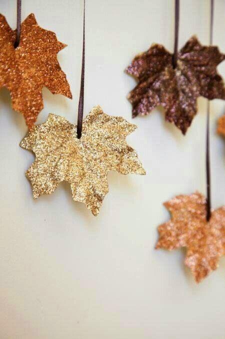 Ha szereted a csillogást, akkor a leveleket is becsillámporozhatod.
