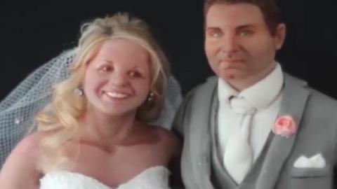 Ennél élethűbb figurákat még nem láttál esküvői tortán – videó