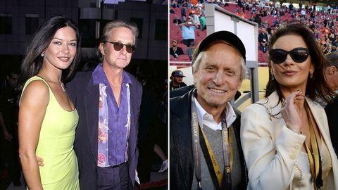 A szülinapjuk is egymásról szól: Catherine Zeta-Jones 47, Michael Douglas 72 éves