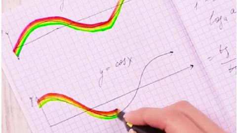 DIY: szivárványos szövegkiemelő, amivel szórakozás lesz a tanulás