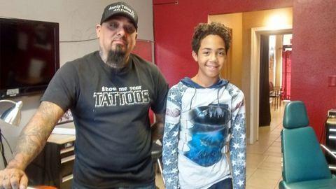 Tetoválómester védte meg a 12 éves fiút az iskolai zaklatástól