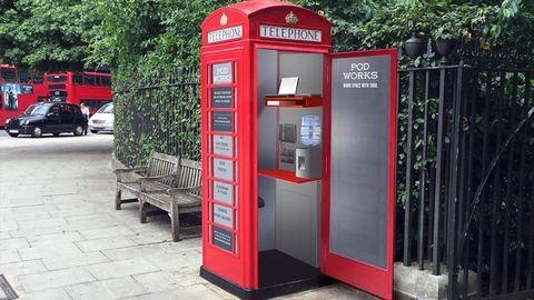 Ebben a telefonfülkében te is szívesen dolgoznál