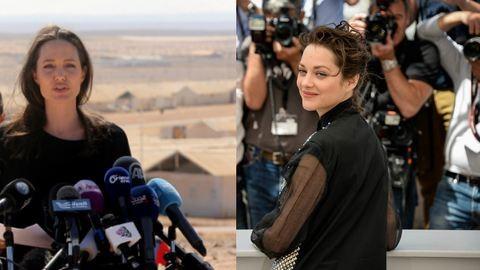 Terhes Brad Pitt állítólagos szeretője, Marion Cotillard magyarázkodik