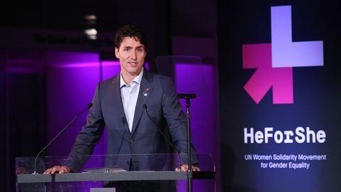Szenvedélyes beszédet mondott a feminizmusról a kanadai miniszterelnök