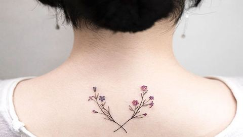 Csodálatosan elegáns tetoválások egy dél-koreai művésztől