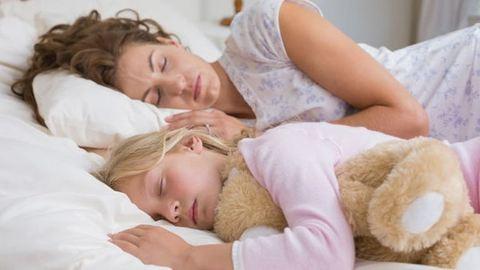 """""""Együtt alszom az 5 éves lányommal, hogy minél több időt vele tölthessek"""""""