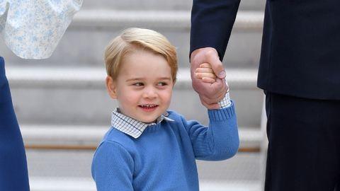 Már megint a cuki György hercegre figyel mindenki