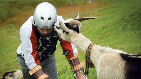 Anti-Nobel-díjat kapott a kecskeként élő férfi