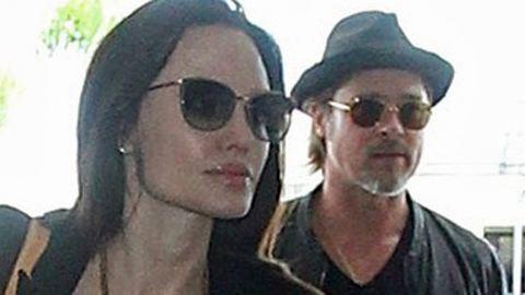 Angelina Jolie letiltatta Brad Pitt számait