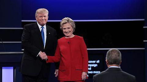 Elnökjelöltek vitája: Clinton állta Trump támadásait
