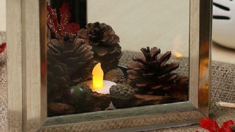 DIY: Csodás őszi dekoráció képkeretekből