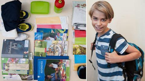 Mennyit cipel egy kisiskolás? – belenéztünk az iskolatáskákba
