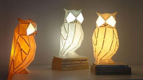 Gyönyörű papírállatok, amelyek fényt hoznak az életedbe
