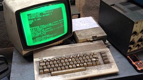 Ezt a Commodore 64-et még mindig használják