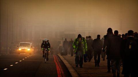Csaknem a Föld teljes lakossága szennyezett levegőt szív