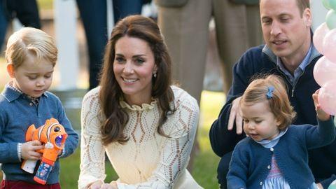 György herceg és Charlotte hercegnő videója felrobbantotta a netet