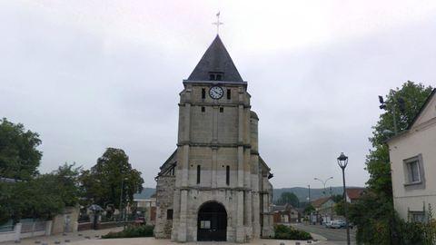 Újranyitott a francia templom, ahol megölték az idős papot
