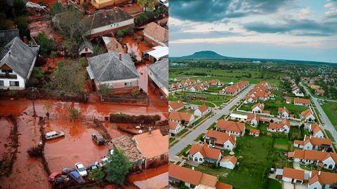 Vörösiszap-katasztrófa: ma 6 éve szakadt át a gát