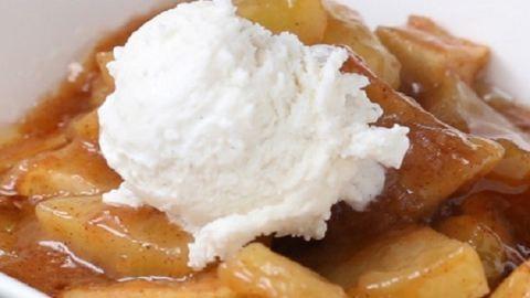 Isteni őszi édesség: karamellás sült alma