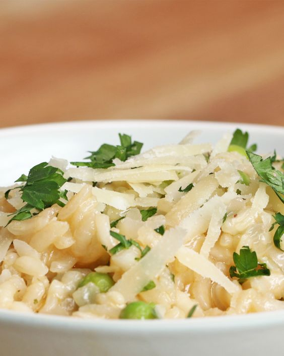 Izgalmas recept vacsorára: citromos-fokhagymás rizottó