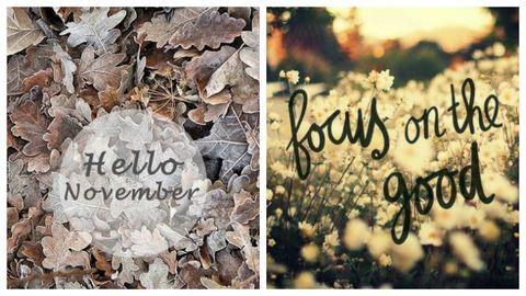 10 pozitív gondolat novemberre