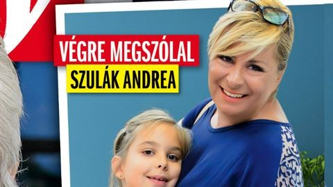 Szulák Andrea az örökbefogadásról beszél