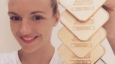 Hosszú Katinka kilenc aranyat nyert két nap alatt