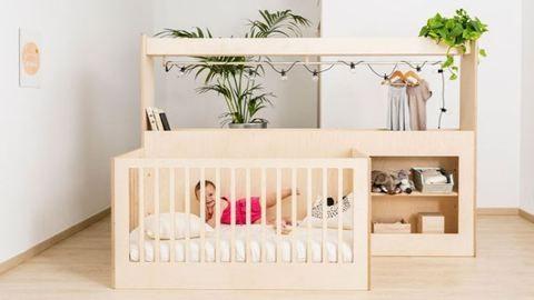 Ez a dizájnos kiságy gyerekeddel együtt nő