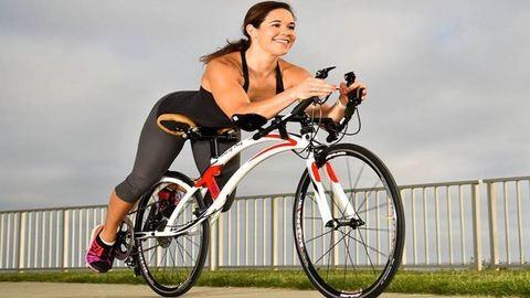 Hülyén néz ki, de állítólag ez a világ legbiztonságosabb biciklije