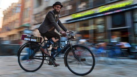 Elegáns biciklisek lepték el Budapestet