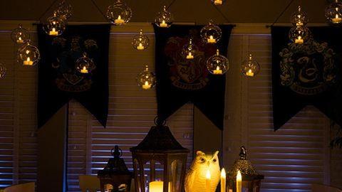 10 varázslatos ötlet egy tökéletes Harry Potter-bulihoz