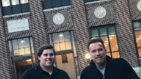 Schwarzenegger fia tök más, mint a szexi bátyja