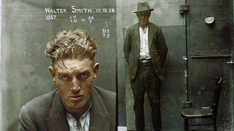 Csalók, függők, dílerek: elképesztő rendőrségi fotók 1920-ból