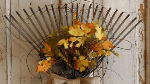 10 ünnepi őszi ajtódekoráció, ha már unod a koszorúkat