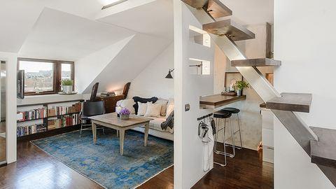 15 tipp tetőtéri lakás berendezéséhez