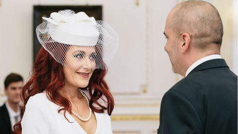 Madár Vera újra férjhez ment