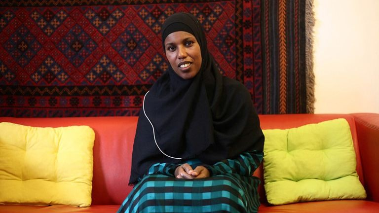 """""""Itt béke van, és senki nem bánt engem"""" – Anab Szomáliából menekült, és ma"""