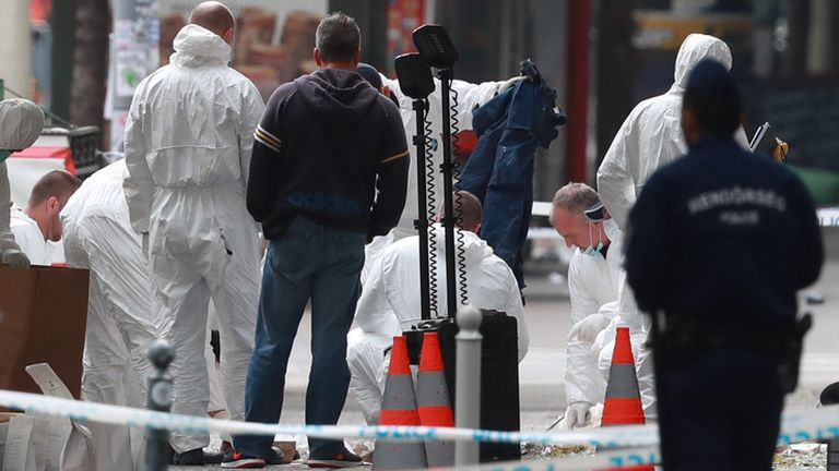 Teréz körúti robbantás: a TEK őrizetbe vett egy férfit